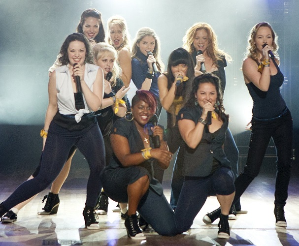 The Bellas Perform in Pitch Perfect